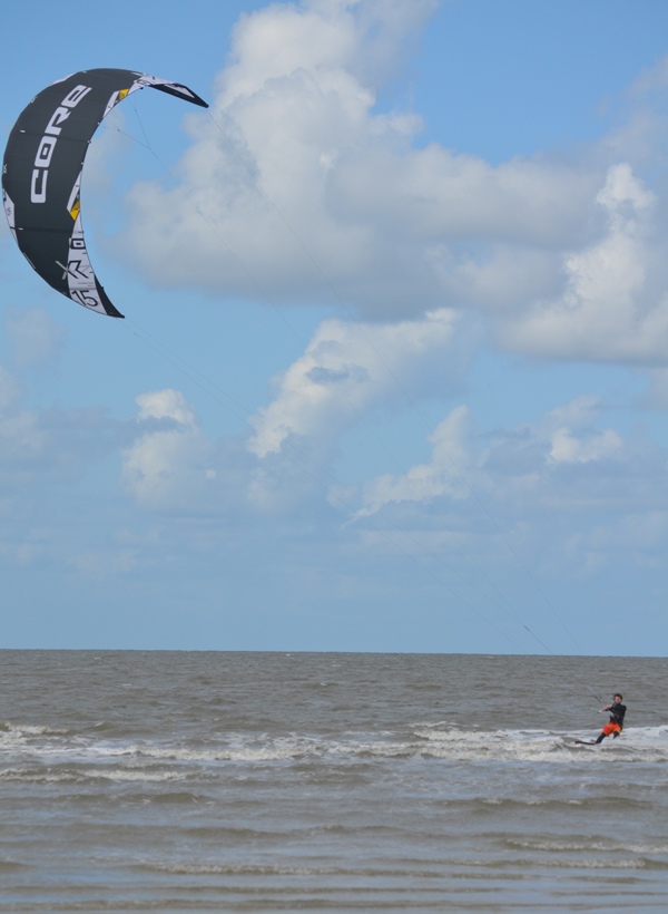 Kite Surfer in St. Peter Ording