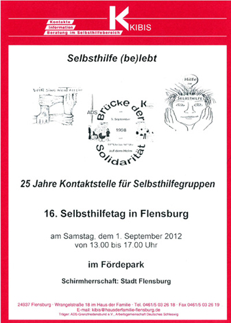 Selbsthilfetag Flyer